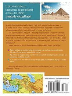 Diccionario bíblico del estudiante -> Edición revisada y ampliada: ¡El best seller de 750.000 ejemplares aún mejor! / Te ayudará a entender
