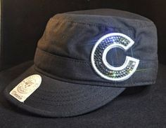 Chicago Cubs rhinestone cadet hat!