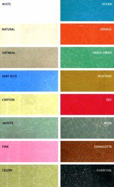 Fiberglass shell rocker modernica - colors