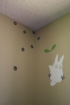Crabfu SteamWorks: Totoro baby room mural