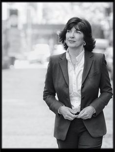 """""""Never think you can't do anything because you're a woman. Everything is open to you as a girl. The future is yours."""" - Christiane Amanpour"""