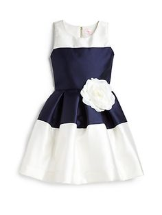 Zoe - Girl's Colorblock Party Dress - Saks.com