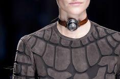 Balmain at Paris Fashion Week Fall 2017 - Details Runway Photos