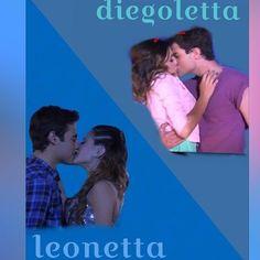 #Violetta #Diegoletta y #Leonetta