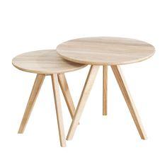 Set of 2 May Tables - Whtwsh | Västra Möbel