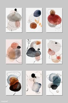 Watercolor Circles, Abstract Watercolor Art, Watercolor Trees, Watercolor And Ink, Simple Watercolor, Tattoo Watercolor, Watercolor Animals, Watercolor Background, Watercolor Landscape