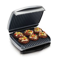 Amazon.com: Hamilton Beach 3-in-1 MultiGrill Indoor Grill, Griddle ...
