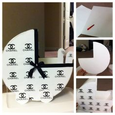1000+ images about chanel baby shower on Pinterest | Chanel cake ...