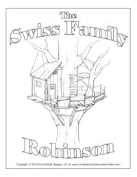 The Swiss Family Robinson Unit Study This Site Has Lots Of Studies And Other
