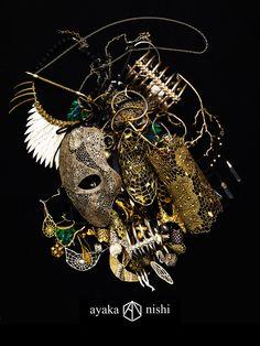 Ayaka Nishi Jewelry   www.ayakanishi.com
