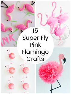 15 Super Fly Pink Flamingo Crafts (Make and Takes) Pink Flamingo Craft, Flamingo Baby Shower, Flamingo Gifts, Flamingo Decor, Flamingo Birthday, Pink Flamingos, Pink Crafts, Diy Arts And Crafts, Crafts For Teens