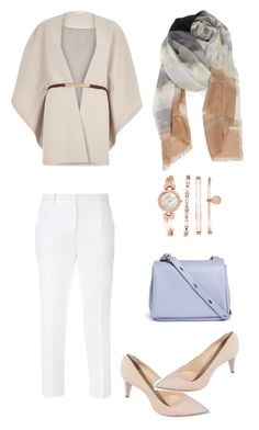 """Untitled #2"" by ditafairuz on Polyvore featuring Dolce&Gabbana, River Island, Nordstrom, Kara, Anne Klein, women's clothing, women's fashion, women, female and woman"