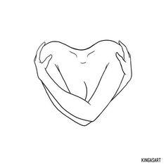 Self Love # Abstract Drawings - Self Love # Abstract Drawings - # Abstract . - Self love drawings – Self love drawings – drawings - Line Art Tattoos, Mini Tattoos, Small Tattoos, Tatoos, Funky Tattoos, Tattoo Sketches, Tattoo Drawings, Art Drawings, Art Sketches