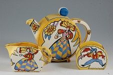 Andrew Muir | Clarice Cliff, Art Deco Pottery,Krafton Pattern