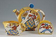 Andrew Muir | Clarice Cliff, Art Deco Pottery,Krafton Pattern