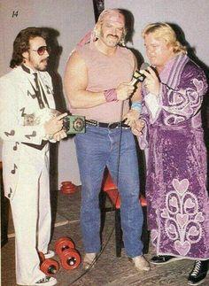 Don Fargo and Greg Valentine | Old School Wrestling ...