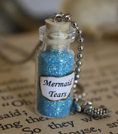 Pure and simple, this little bottle only contains Mermaid Tears. Mermaid tears can heal any mortal from any wound or disease. Only applicable to humans, this bottle will last you three uses, so conserve. This substance is very valued and coveted, treat it with respect.  Mermaid Tears    Price: 70 Sand Dollars, 10 drops of blood.    Lasting Effect: N/A