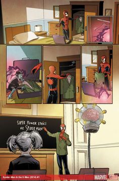 Spider-Man & the X-Men #1 preview art by Marco Failla