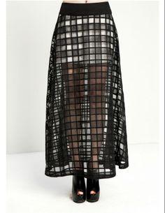 chic long skirt. ^^
