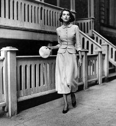 50s Suit Fashion #1950s #fashion #suit