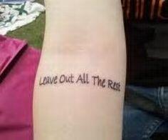 linkin park tattoo yes!!!