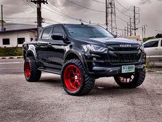 Isuzu D Max, Custom Wheels, Modified Cars, Bmw Cars, Pickup Trucks, Exotic Cars, Offroad, Dream Cars, Ford