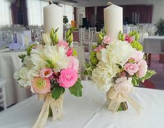 Lumanari Ceremony Decorations, Table Decorations, Wedding Bouquets, Wedding Flowers, Vase Fillers, First Communion, Christening, Flower Arrangements, Dream Wedding