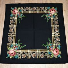 vintage shawl Vintage Antiques, Shawl, Create, Home Decor, Embroidery, Decoration Home, Room Decor, Home Interior Design, Veils