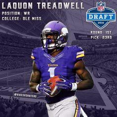 Laquon Treadwell #1 Pick SKOL!