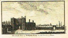 "Miniatures Scene - ""ST. OSYTH'S PRIORY IN ESSEX"" - Engraving - c1780 Essex England, London England, Vintage World Maps, Miniatures, Scene, Prints, Image, Products, Mockup"