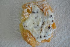 Sfingi (Sicilian Donuts/Fritters) | ricotta filling only