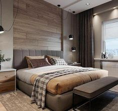 Glamorous and exciting hotel bedroom decor. See more luxurious interior design d… Glamorous and exciting hotel bedroom decor. Luxury Bedroom Design, Bedroom Bed Design, Modern Master Bedroom, Luxury Home Decor, Luxury Interior, Minimalist Bedroom, Contemporary Bedroom, Modern Contemporary, Luxury Homes