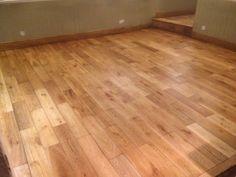 Cleaning a oak floor in cambridge