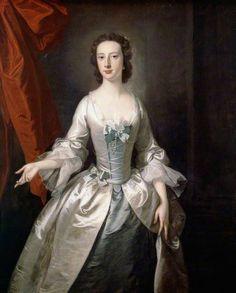 portrait of ladie, c1770s, by Thomas Hudson.