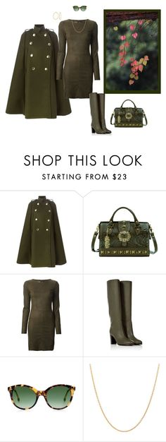 """""""Untitled #1163"""" by milliemarie ❤ liked on Polyvore featuring Sacai Luck, Drome, Sergio Rossi, Rebecca Taylor, Palm Beach Jewelry and Bling Jewelry"""