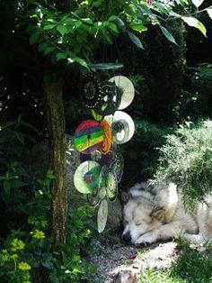 Ideas art for everyone, DIY - Joanna Wajdenfeld: Windy ringtones from CDs