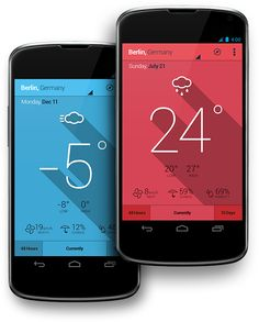 Simple Weather App on Behance