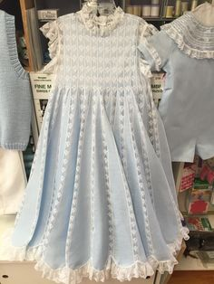 Pictures of french hand sewn dresses