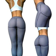 bea20160be 2017 Dot Print Women Running Yoga Pants Running Tights Sports Leggings  Trousers Plus Size Yoga Fitness Outdoor Pant Gym Legging
