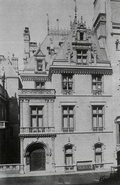 666 Fifth Ave. | New York, NY. Virginia Vanderbilt Mansion. Built where 2 brownstones once stood and connected to the original William K. Vanderbilt, Sr. mansion beside it. It was demolished to make way for an office building which was itself demolished for the present office building.