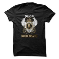 awesome This guy loves his BREIDENBACH t shirts
