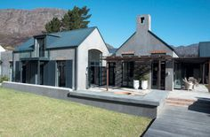 """You can always complicate something, but a simple design will always read more strongly,"" says Simon McCullagh 686 Modern Barn House, Modern House Design, Modern Farmhouse Exterior, Farmhouse Design, Style At Home, Double Storey House, Kerala House Design, Bungalow House Plans, Vernacular Architecture"