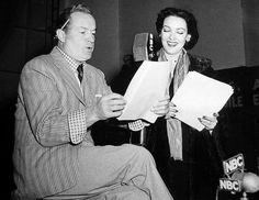 Fred Allen's Old Time Radio Home. Bob Hope and Linda Darnell