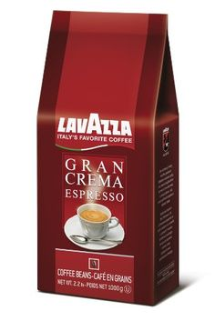Lavazza Gran Crema Espresso, 2.2-Pound - http://www.freeshippingcoffee.com/brands/lavazza/lavazza-gran-crema-espresso-2-2-pound/ - #Lavazza