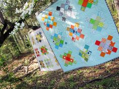 i SO need to make a granny square quilt! I just love these quilts.