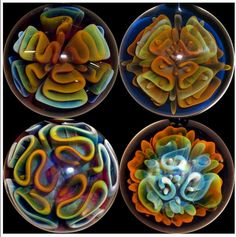 Christian Arnold - Australian Art Glass - Marbles