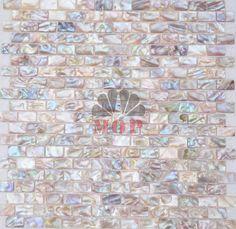 Freshwater Shell Mosaic Mother Of Pearl Tiles Natural Color Kitchen Backsplash Background Wall Mosaics Tile Free
