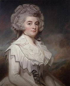 Miss Mary Finch-Hatton by George Romney 1788