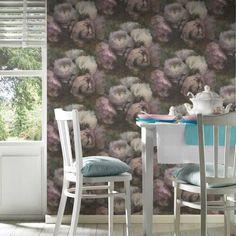 Wallpaper Dublin, Wallpaper Online,Living Walls Collection Wallpaper Wallpaper Paste, Wallpaper Online, Living Walls, Pretty In Pink, Dining Chairs, Dublin, Bedroom Inspo, Fairytale, Florals
