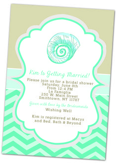 9884c780a5cd30 Beach-themed bridal shower invitation www.christimariecreative.com